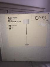 Argos Home Duno Floor Lamp White&chrome RRP £30