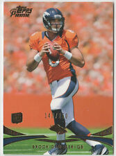 BROCK OSWEILER Broncos 2012 Topps Prime GOLD Rookie #18 SP RC #143/250 Mint