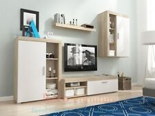 Modern Living Room Furniture Set TV Unit Cabinet Stand Wall Display Cupboard OLI