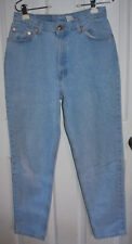 Levis Blue Jeans 13M Vintage 90's Tapered Leg Light Wash Zippered Fly Cotton