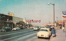 Pacific Ave Stockton CA, Miracle Mile, Cunningham's Corsetorium, Safeway. Pabco