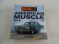 American Muscle Car-A-DAY 2012 David Newhardt  Kalender Rarität