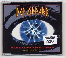 Def Leppard Maxi-CD Make Love Like A Man - German 4-track - 866 993-2