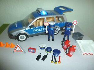 Playmobil 4259 Polizei Polizeiauto Einsatzwagen mit viel Zubehör