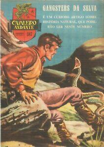 1959 TINTIN (Hergé) Portuguese comic magazine Cavaleiro Andante # 387