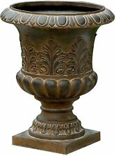 Classic Urn Style Planter Round Flower Plant Pot Home Outdoor Decor Patio Pool