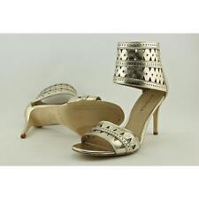 Via Spiga Vanka Women US 8.5 Gold Sandals Pre Owned  1735