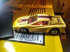 #4 Ferrari Testarossa Yellow Hot Wheels Mattel 1986 Malaysia  NICE SHAPE!