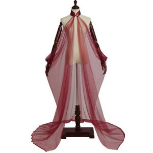 Women Cloak Fairy Elf Lady Cape Wedding Dress Elven Queen Princess Cloak 5 Color