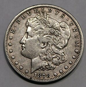 1878 CC Morgan Silver Dollars - XF !!