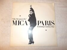 Vinyl 12 inch Record Single Mica Paris Like Dreamers Do 1988