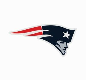 New England Patriots NFL Football Color Logo Sports Decal Sticker-Free Shipping