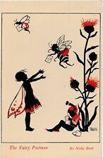 More details for molly brett original postcard 1930s 40s the fairy postman gnome series