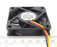 1 x DC Brushless Cooling Fan 60 x 60 x 15mm 60mm 6015 7 blades 5V 3pin Connector