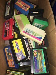 WHOLESALE LOT of 20 Random Famicom Games Japan region NES Imports random