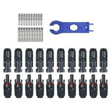 10 paia MC4 Connettori maschio / femmina per pannello solare con strumento G4O4
