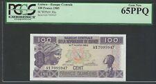 Guinea 100 Francs 1985 P30a Uncirculated Graded 65