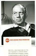 MELVYN DOUGLAS IN HOSPITAL BED BEN CASEY ORIGINAL 1964 ABC TV PHOTO