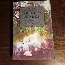 Nicholas Sparks THE WEDDING paperback novel pb book (like Notebook)