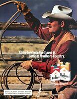 1979 Marlboro Man Darrell Winfield photo Marlboro Cigarettes vintage print ad #2