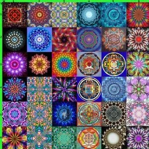 5D Full Drill Diamond Painting Mandala Embroidery DIY Cross Stitch Decor Kits