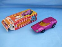 Vintage 1973 Matchbox Rolamatics No 39 Clipper Crimson Futuristic Car Toy Boxed