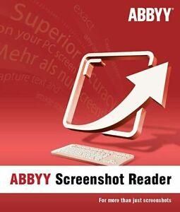 Abbyy Finereader Screenshot Reader Download Vollversion ESD Dauerlizenz NEU