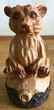 Latex Mould This Carved Effect Bear