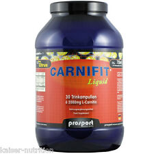 Prosport Carnifit Liquid, 750ml /30 Trinkampullen a 25ml