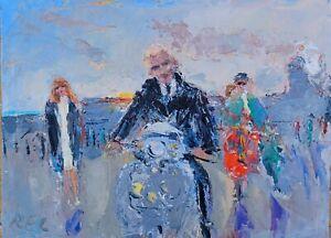 Paul Weller-the jam-oil On Canvas-original- Painting-mods-quadrophenia-Brighton