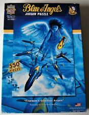 """Blue Angels Freedom's Guardian Masterpieces 550 Piece Jigsaw Puzzle 18"""" X 24"""""""