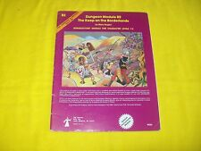 B2 THE KEEP ON THE BORDERLANDS DUNGEONS & DRAGONS TSR 9034 - 2 MODULE 1ST PRINT