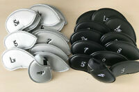 12x Golf Iron Cover Headcover Oversize For Ping Callaway Taylormade PXG Cobra