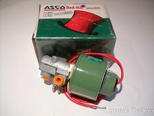 "New Asco Red-Hat 1/8"" Shutoff Solenoid Valve, 120V 60Hz, 83248"