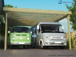 Wohnmobil Doppelcarport 6x8m komplett inkl. Dach & Befestigung vom Hersteller