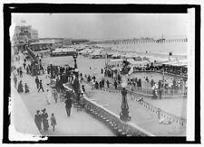 """8"""" x 10"""" 1900s photo Argentine Rep. Mar del Plata swimming pool"""