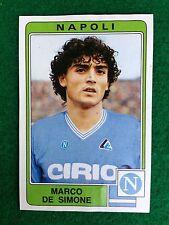 CALCIATORI 1984-85 84-1985 n 207 NAPOLI Marco DE SIMONE - Figurina Panini NEW