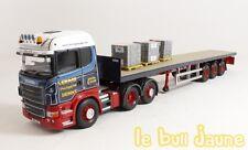 Camion SCANIA Flatbed Trailer + Brick Load Ian Craig Haulage CORGI CC13748 1/50°
