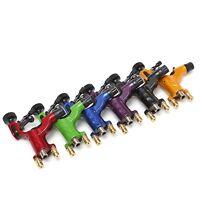 6 new rotary tattoo machine gun motor kit for liner shader both Clip RCA cord