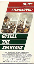 Go Tell the Spartans (VHS)