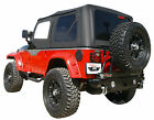 Replacement Soft Top Tinted Windows Rampage 99515 1997-2006 For Jeep Wrangler