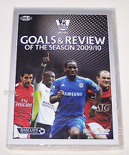 Premier League 2009 / 10 Review & Goals Of The Season 2 Disk DVD Set New
