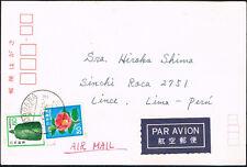3056 JAPAN TO PERU CARD 1981 IDAGAWA - LIMA