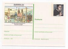 1981 GERMANY - NAPOSTA'81 STAMP EXHIBITION Philatelic Stationery Postcard UNUSED