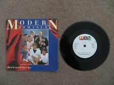 "MODERN ROMANCE - BEST YEARS OF OUR LIVES 7"" VINYL SINGLE, 1982, ROM1"