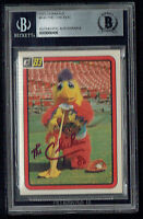 The Chicken #645 signed autograph auto 1983 Donruss Baseball Card BAS Slabbed