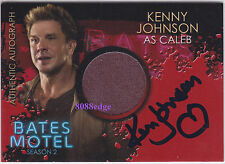 "2016 BATES MOTEL SEASON 2 COSTUME AUTO: KENNY JOHNSON - AUTOGRAPH "" THE SHIELD"""
