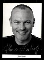 Klaus Nierhoff Lindenstraße Autogrammkarte Original Signiert # BC 82694