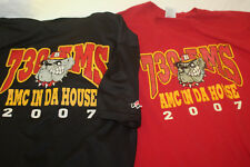 Lot of 2 Athletic Shirts 730 AMS AMC In Da House 2007 Size XL Red and Black