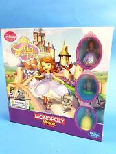 Disney Monopoly Junior Sofia The First Board Game